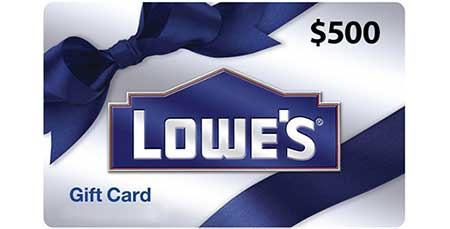 Enter Today To Win A $500 Lowe's Gift Card – Ends May 23rd ...
